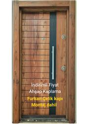Ahşap kaplama Çelik kapı