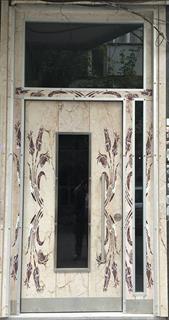 Lale model bina dış kapısı